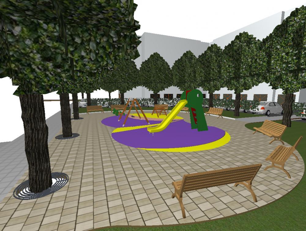 Ръководството на община Ботевград ще проведе обществено обсъждане на идеен проект за изграждане на паркинг с детска площадка