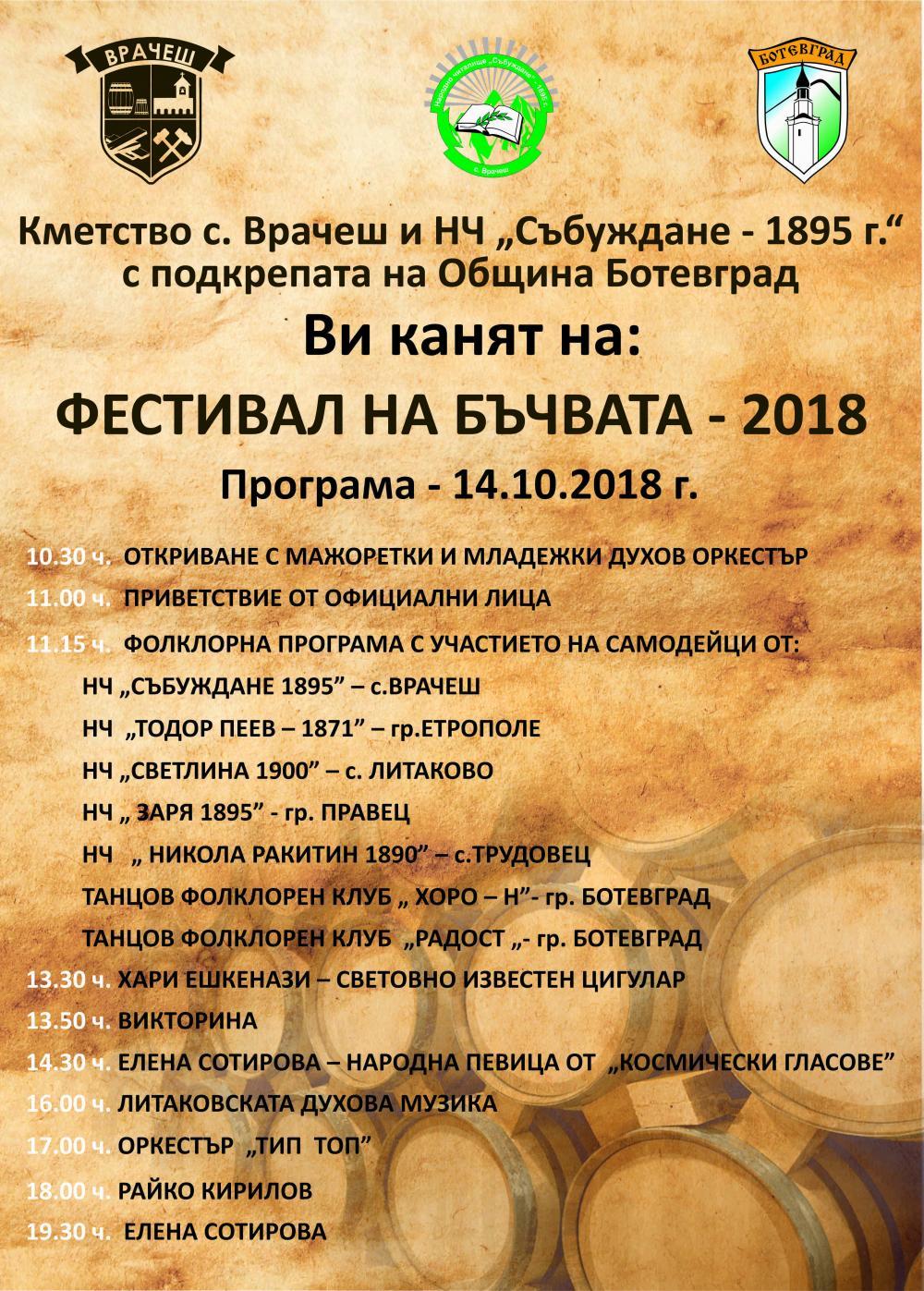 Фестивал на бъчвата - 2018