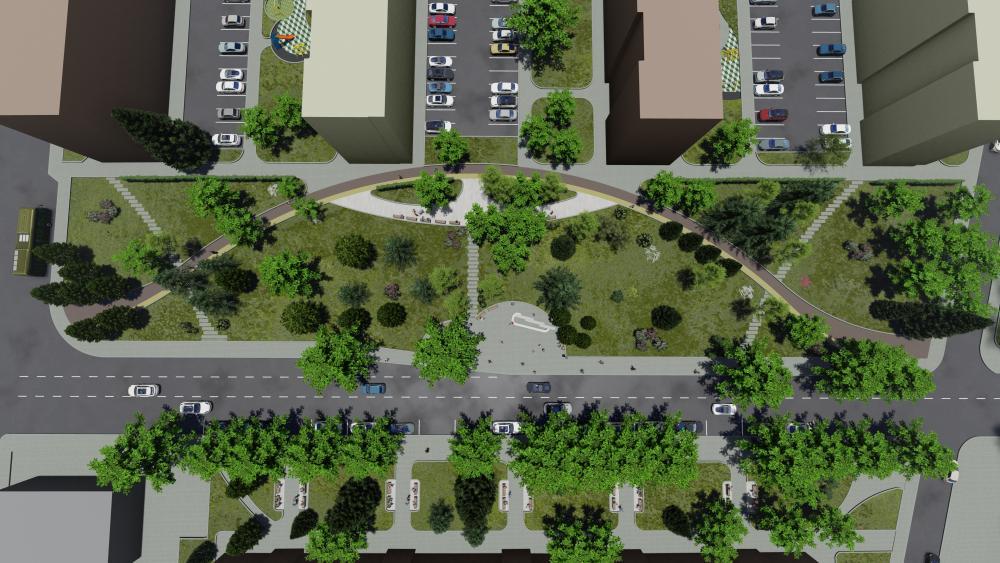 Предстои обществено обсъждане на актуализиран проект за благоустрояване в района на бул. Цар Освободител