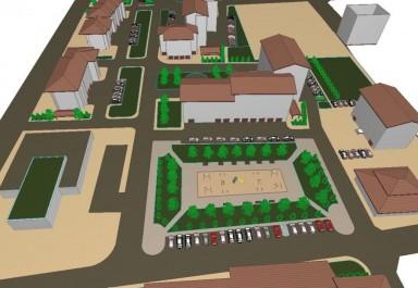 """Проект за благоустрояване на вътрешно квартални пространства в жк """"Стария изток"""""""