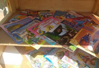Отново къщичка за книги в Ботевград